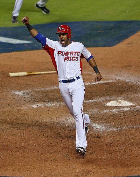 Puerto Rico Baseball Player Alex Rios