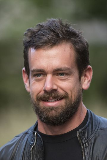 Jack Dorsey, interim chief executive officer and co-founder of Twitter Inc., arrives for a morning session during the Allen & Co. Media and Technology Conference in Sun Valley, Idaho, U.S., on Thursday, July 9, 2015. Billionaires, chief executive officers, and leaders from the technology, media, and finance industries gather this week at the Idaho mountain resort conference hosted by investment banking firm Allen & Co. Photographer: David Paul Morris/Bloomberg *** Local Caption *** Jack Dorsey
