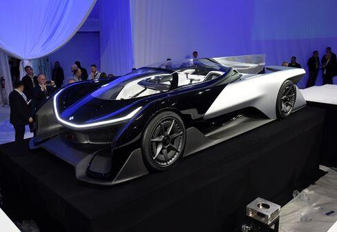 Faraday FFZero1 concept vehicle.