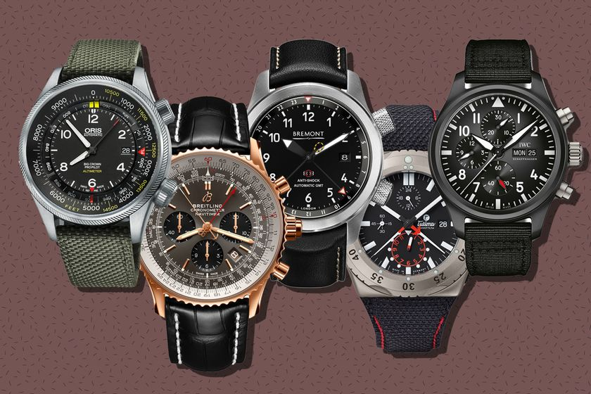relates to Maverick's Return in Top Gun Sequel Will Herald a Hot Time for Pilot Watches