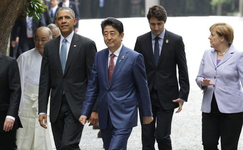 Obama Apologizes for Dropping Atomic Bomb on Japan?