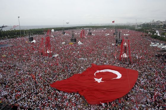 On Eve of Vote, Only Erdogan Gets TV Time: Campaign Trail Update