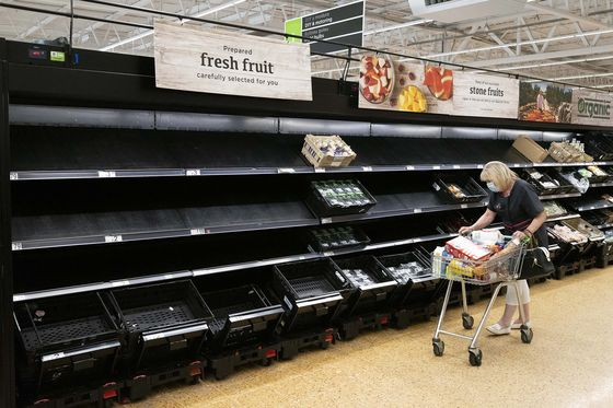 U.K. to Probe Extent of Country's Food Supply-Chain Woes