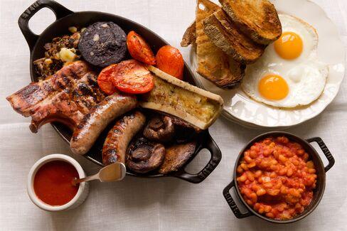 A Hawksmoor breakfast