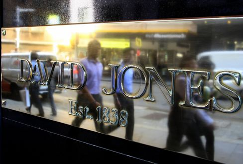 David Jones Slumps as Analysts Question Structure of EB Bid