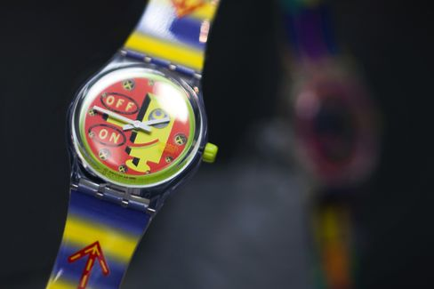 Swatch Gains as Watch Parts Drive Profit Growth