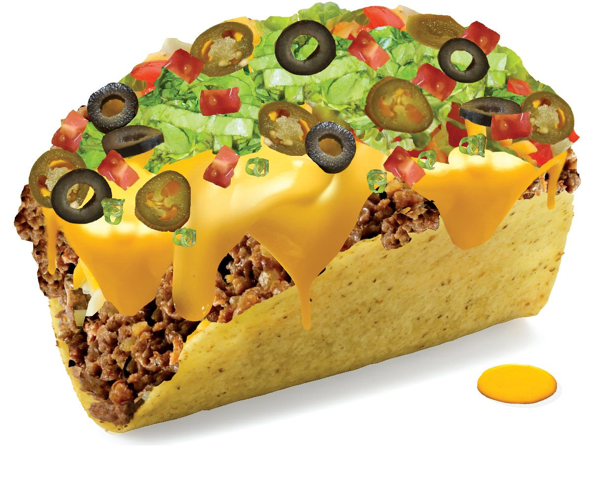 With Taco Bell's 5 Buck Box, you choose between all the fan-favorites for a complete and totally delicious meal. Build your own box by combining these food items: Hard taco, soft taco, bean burrito, and beef burrito (pick 2).