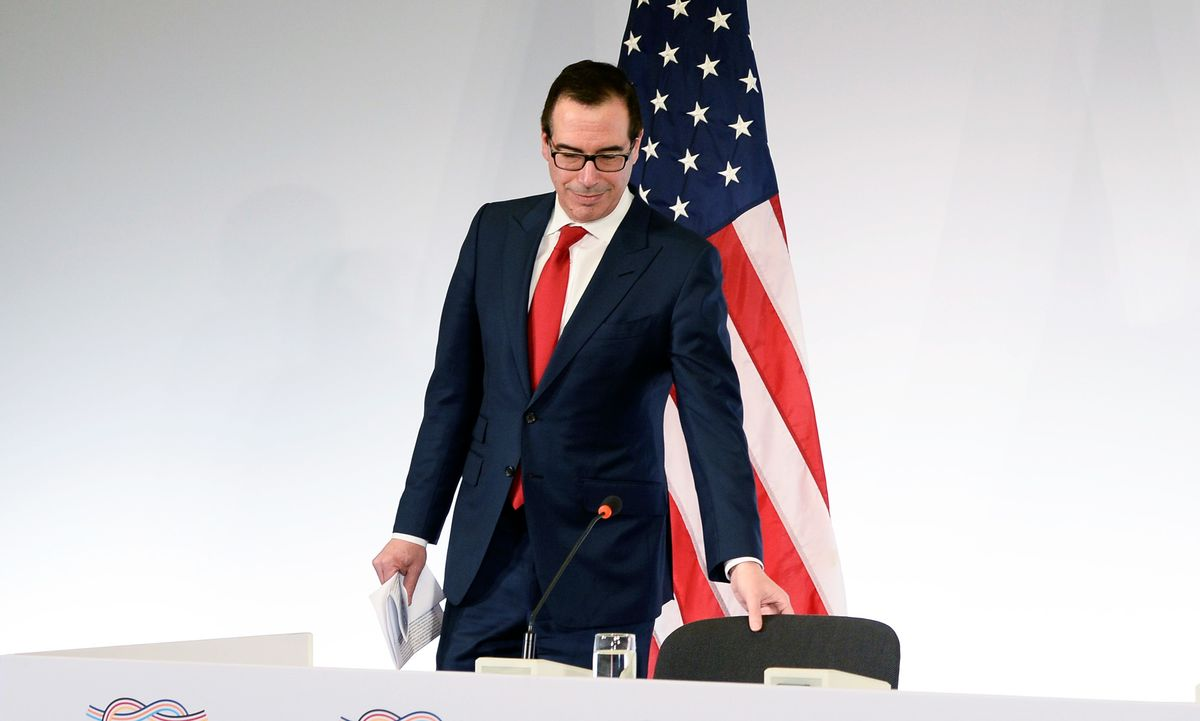 Mnuchin at G-20 Plays Nice While Snubbing Rules of World Trade