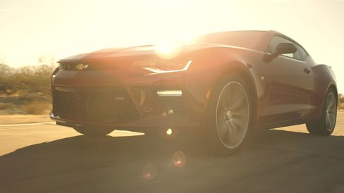 The SS comes with the same V8 engine as the Corvette Stingray.