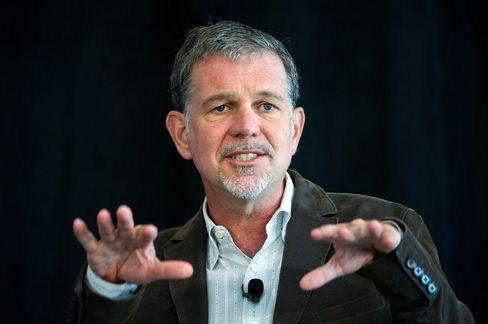 Netflix CEO Hastings' Stock Options Cut by 50%