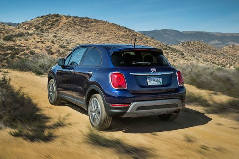The 2016 Fiat 500X averages about 30 mpg in highway driving. But it'll get far less off-road.