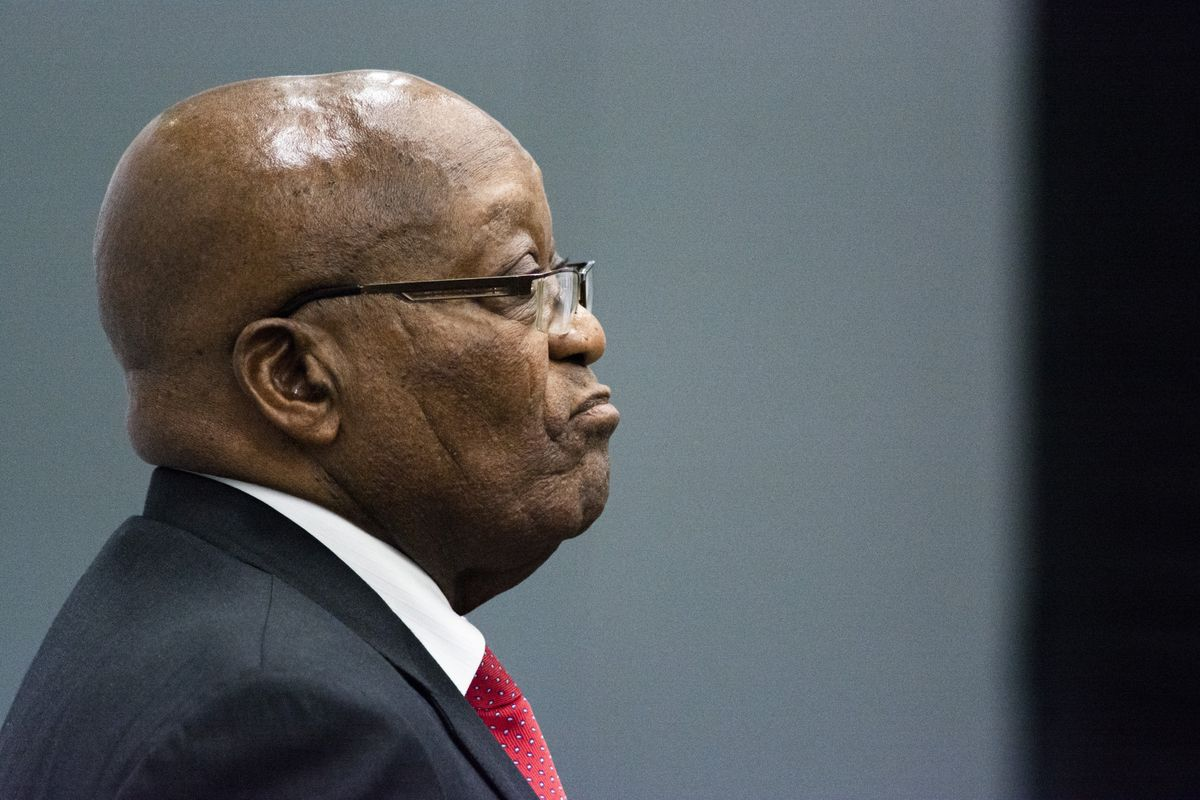 Top South African Court Upholds Zuma's Contempt Conviction
