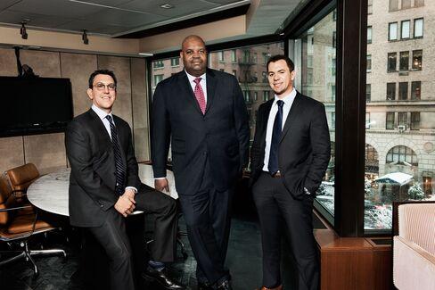 Eric Lichtenstein, Reggie Browne and Darren Taube