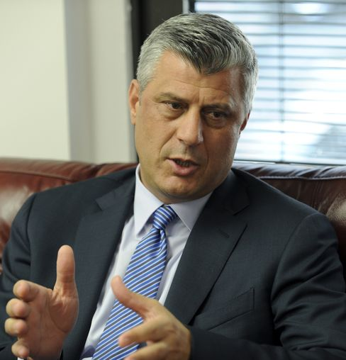 Kosovo Prime Minister Hashim Thaci