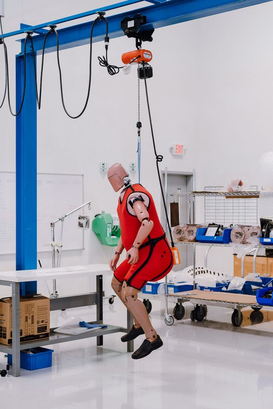 Crash-Test Dummies Are Getting Fatter Because We Are, Too
