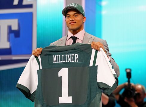 Dee Milliner Receives Rare Welcome From Jets Fans at NFL Draft