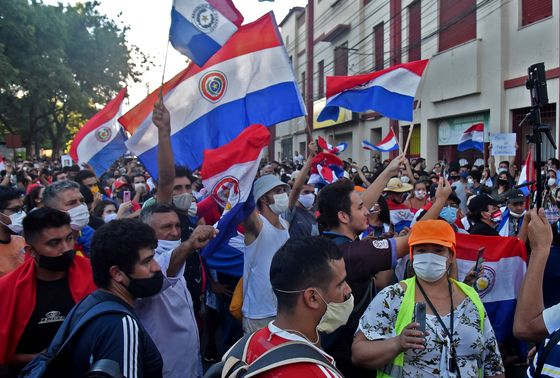 Paraguay President Upends Cabinet Amid Protests Over Covid