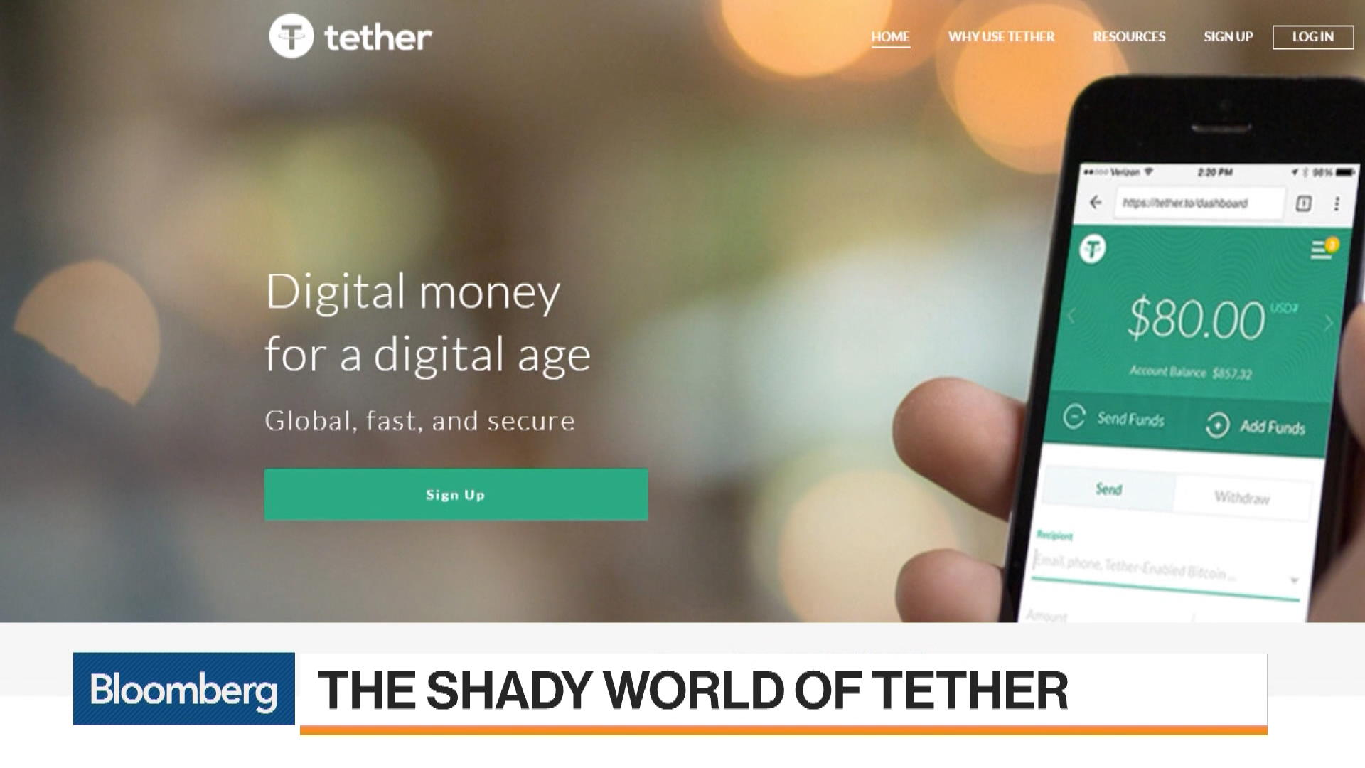 Mystery Shrouds Tether and Its Links to Biggest Bitcoin Exchange