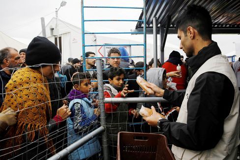 Refugees on Greece - Macedonia border