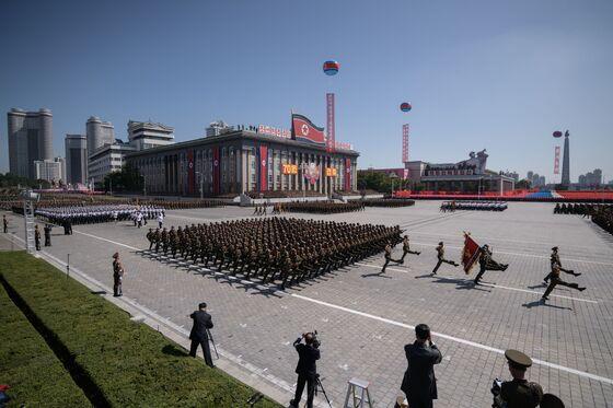 North Korea Tones Down Military Parade, Avoiding Trump's Ire