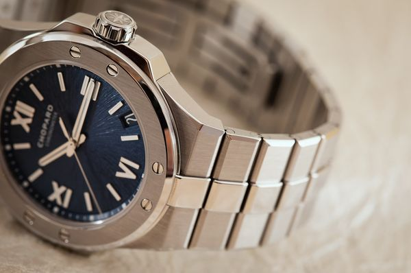 relates to Chopard's Stainless Steel Sport Watches Flaunt Style, Sustainability