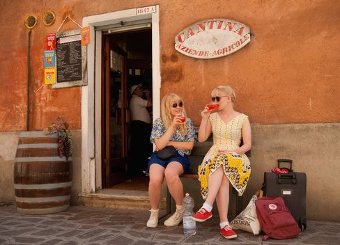 Campari Blitzes Europe With Aperol Spritz to Boost Stock