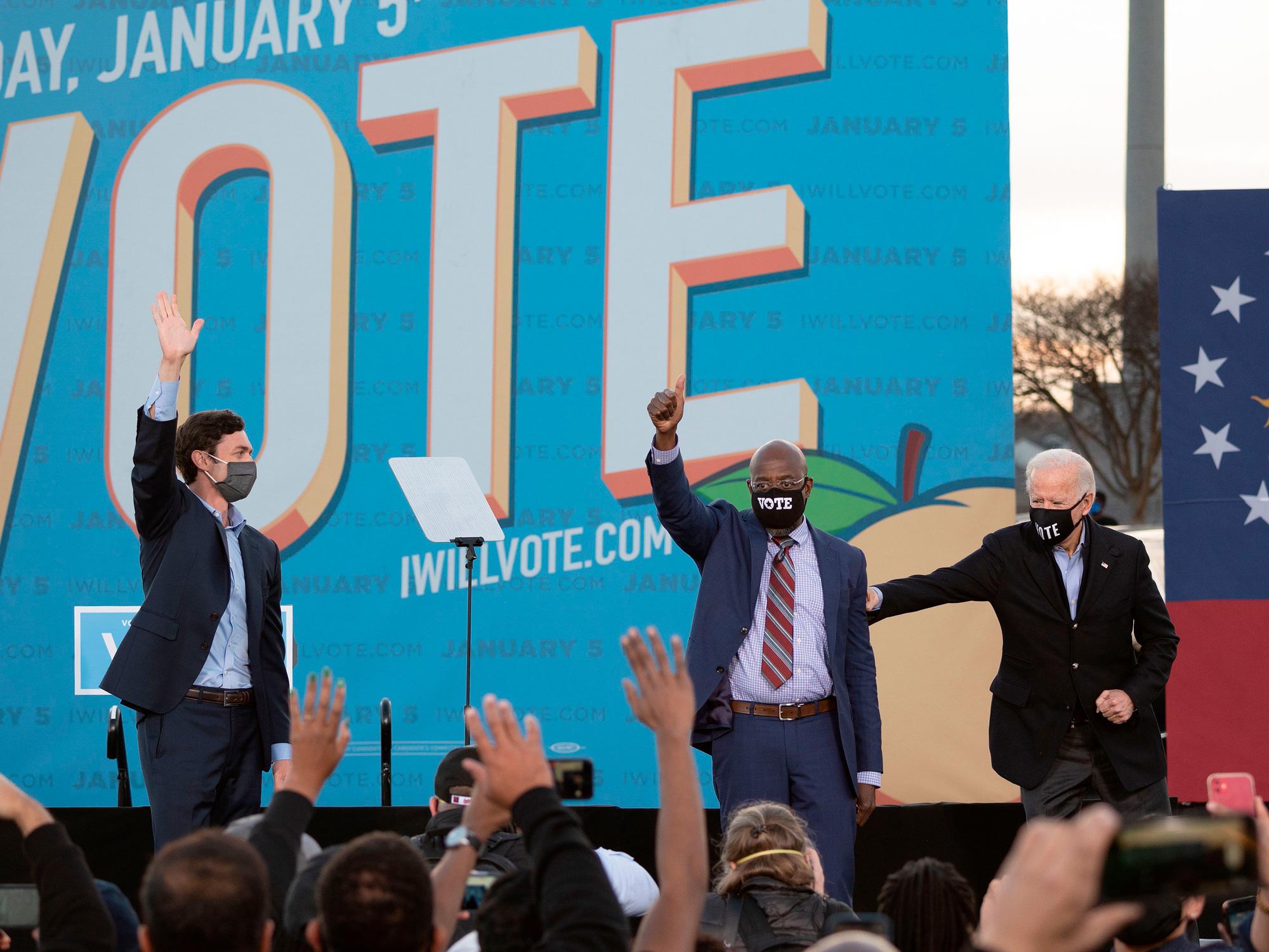 Democratic Senate wins in Georgia set up the prospect ofgovernmental headwinds for Big Tech.