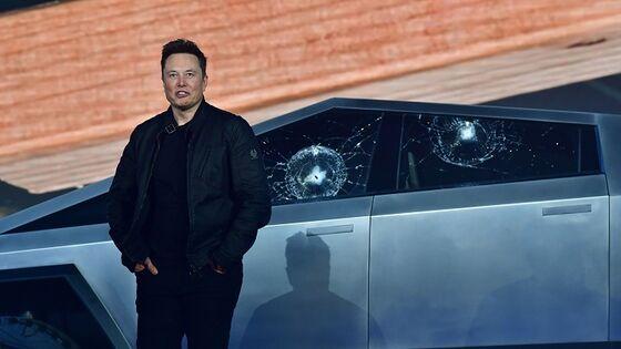 Tesla Truck Demo Goes Awry as Shatterproof Windows Shatter (Video)