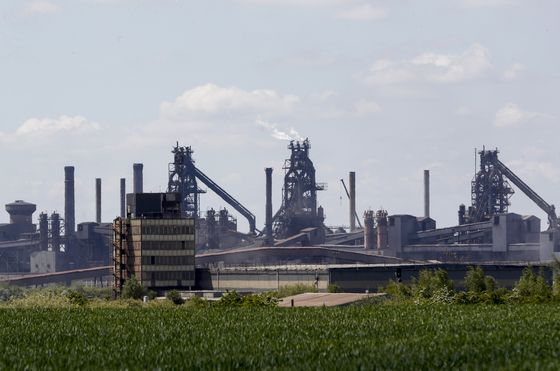 Tycoon Betting on British Steel Made First Fortune in Acid