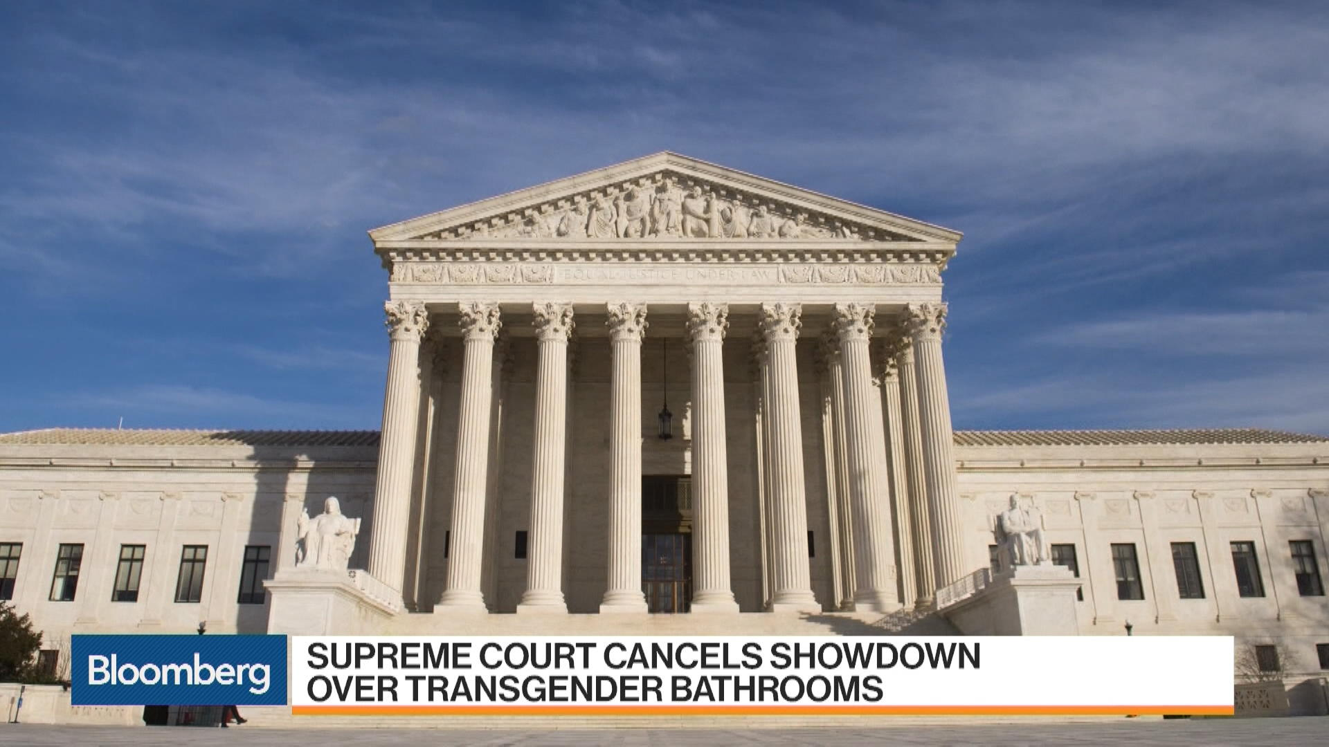 U.S. Supreme Court Cancels Transgender Bathroom Showdown