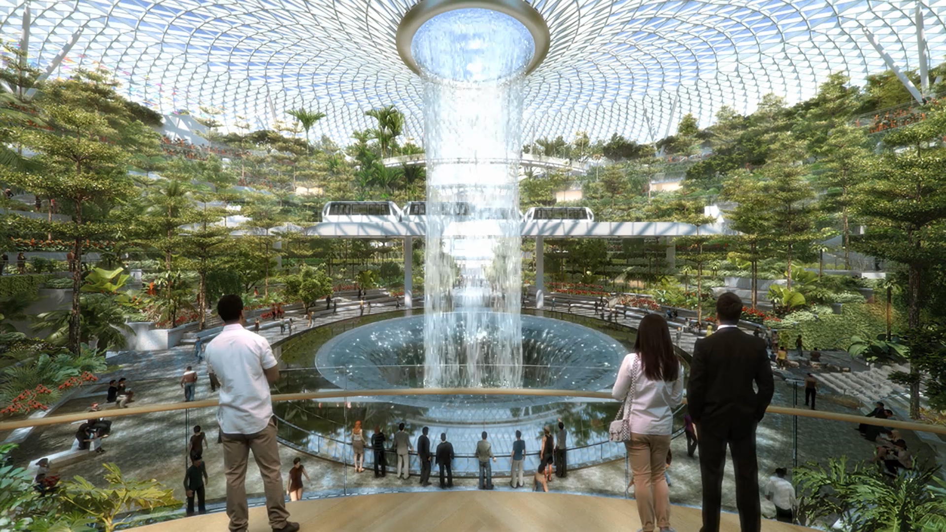 Singapore's Jewel Changi Airport is opening in 2019. Image: Bloomberg