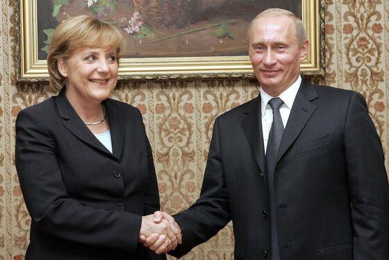 Trump's Global Disruption Pushes Merkel Toward Putin's Orbit