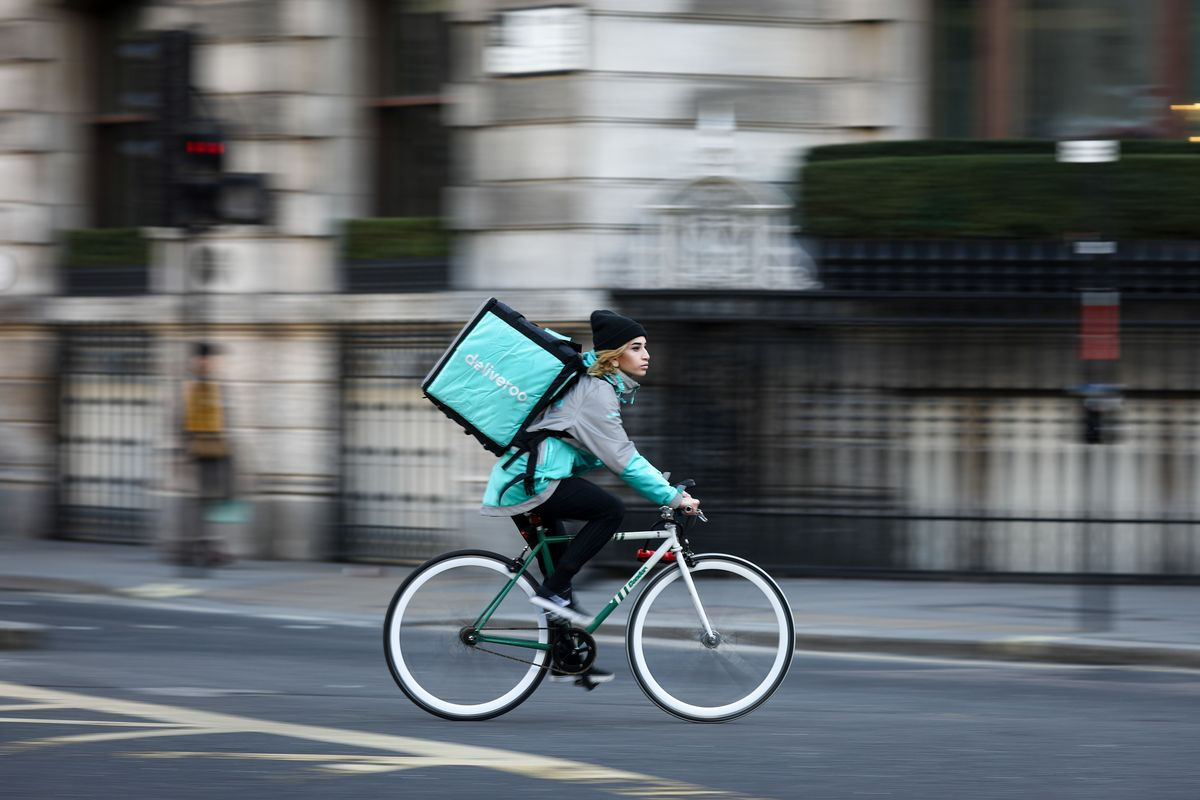 Amazon Faces U.K. Antitrust Decision to Allow Stake in Deliveroo
