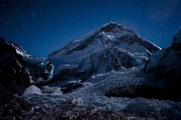 Atop Mount Everest