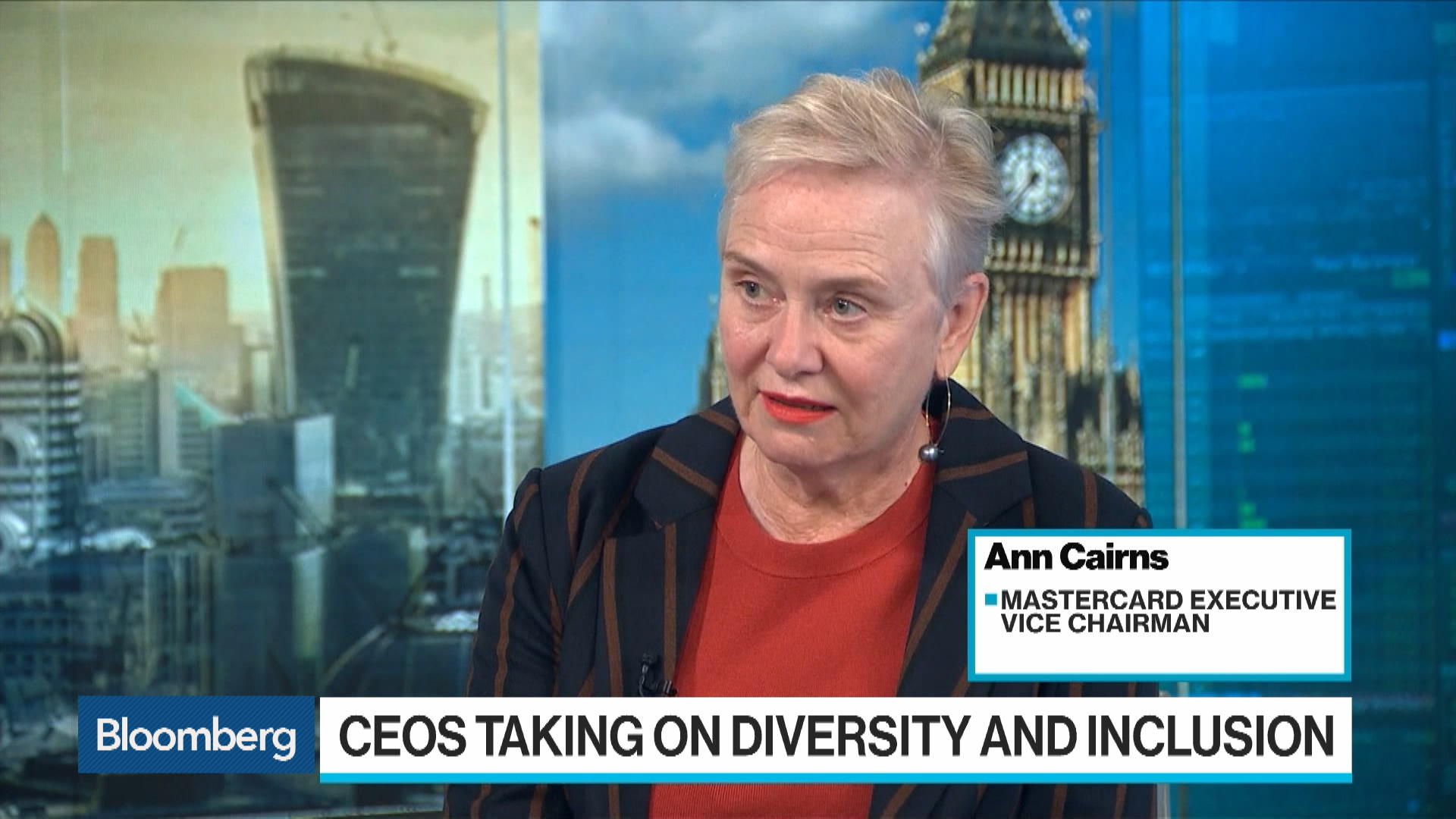 Mastercard 's Cairns: Financial Services Are Behind on Diversity and Inclusion