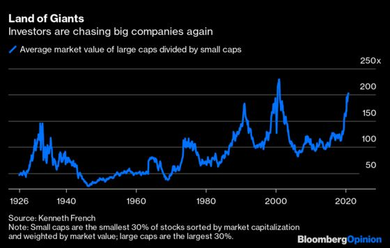 Don't Let Stocks' Big Dogs Crowd Out the Small Ones