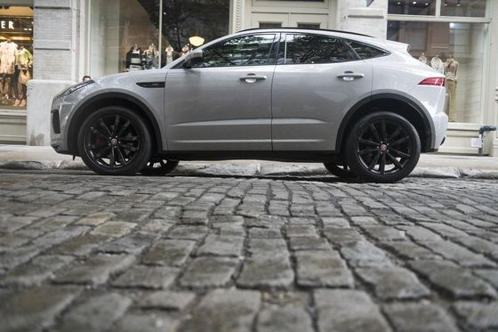 The Jaguar E-Pace Is a Solid Contender, If You Can Remember It