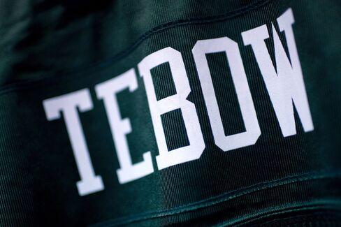 Nike Wins Restraining Order Against Reebok Over Tebow Jersey