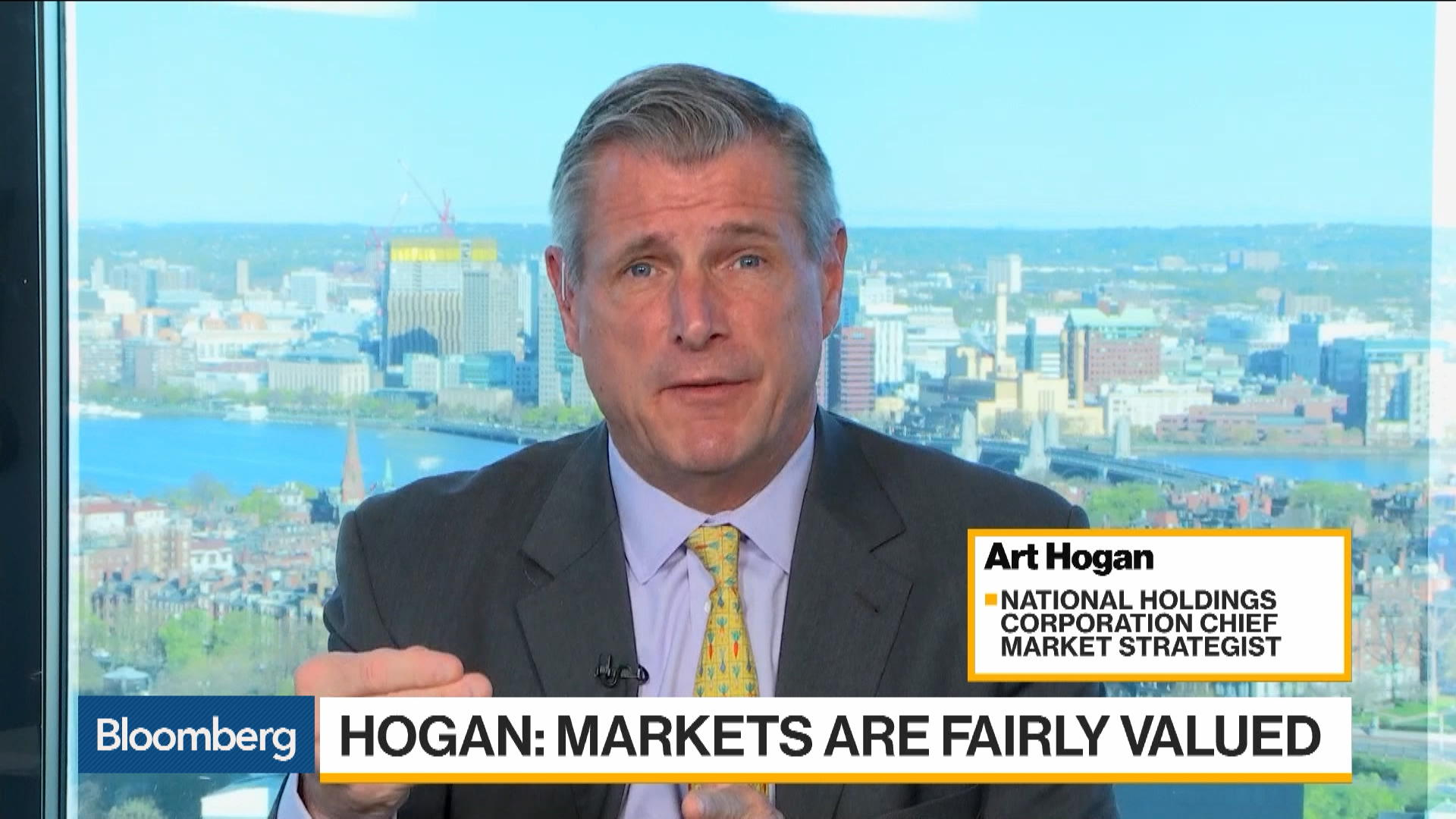 Market Is Fairly Valued Here on Earnings Expectations, Hogan Says