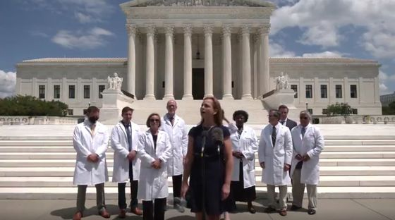 Tea Party Group Is Behind Banned Viral Doctors Video