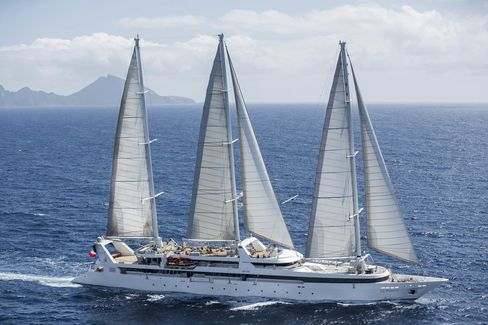 Ponant's flagship yacht, which will begin sailing to Cuba in January 2017