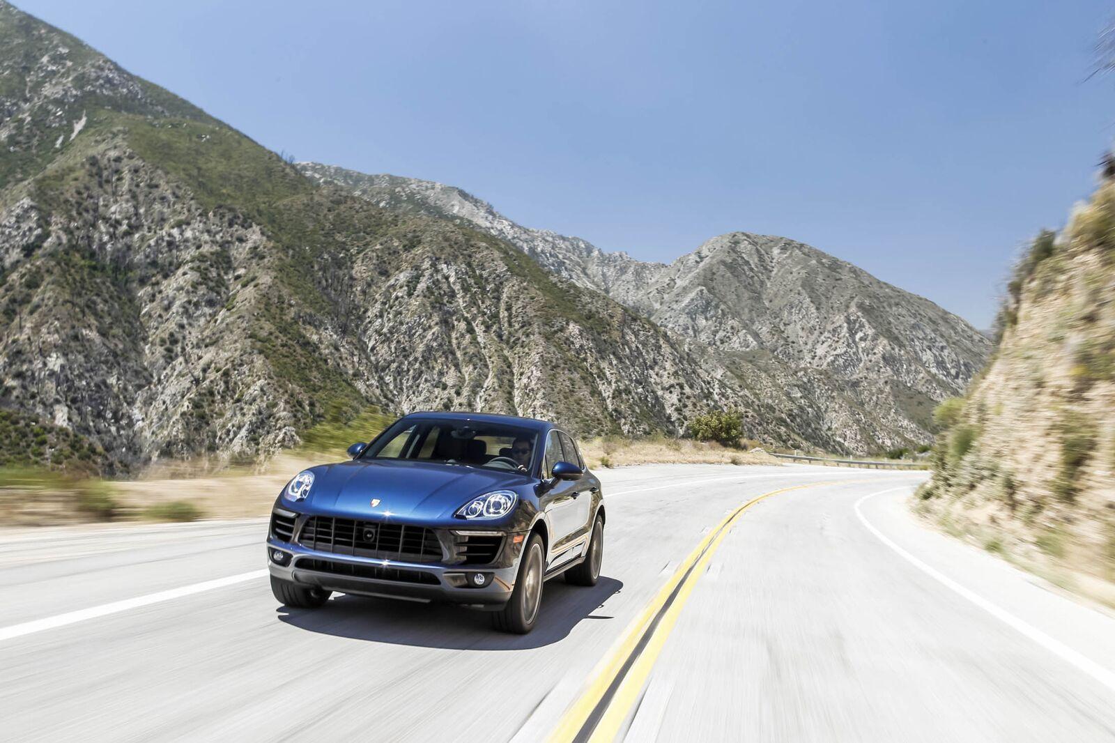 SUV: Porsche Macan S
