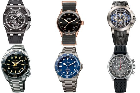 Dive watches and rugged chronographs go head-to-head.