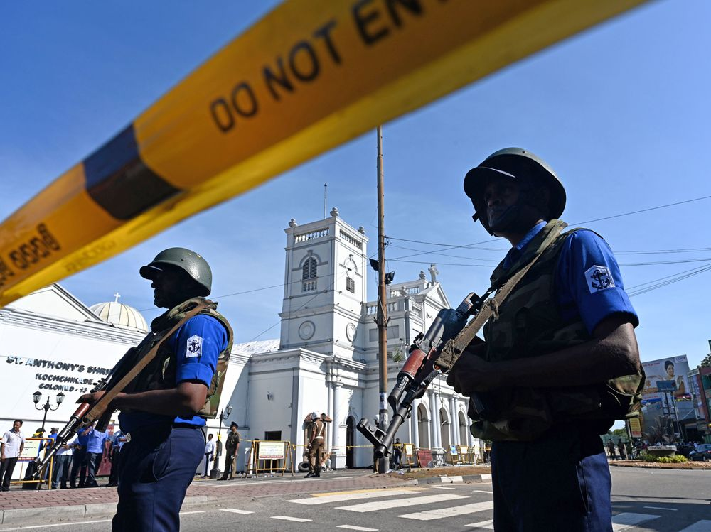 Sri Lanka Says Jihadist Group Behind Blasts That Killed 290