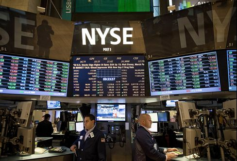 U.S. Stocks Erase Gains as Industrial, Commodity Shares Decline
