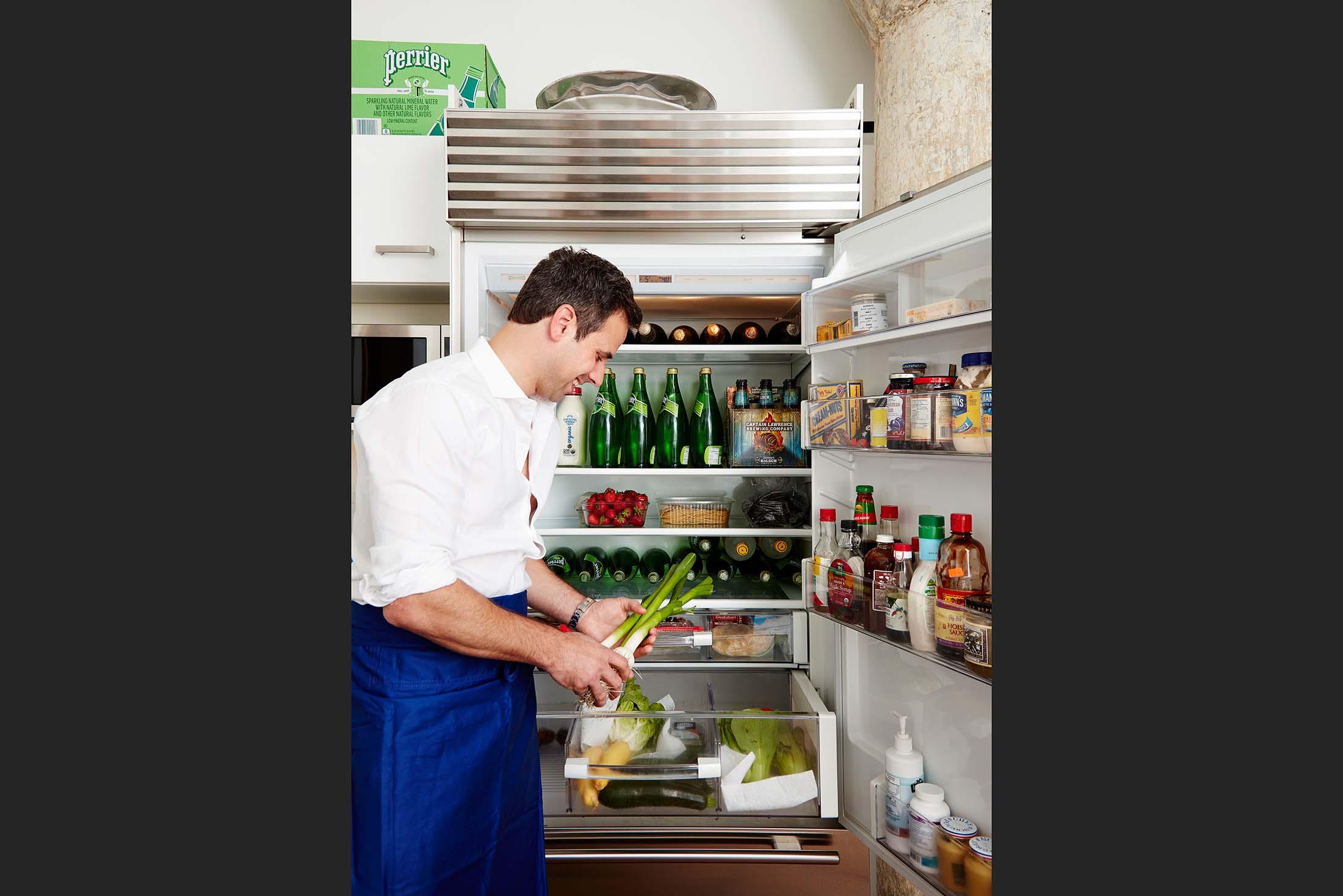 A Beverage-Heavy Refrigerator