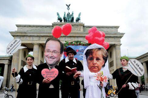 Hollande and Merkel: Odd Couple or Soulmates?