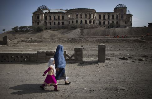 Darulaman Palace in Afghanistan