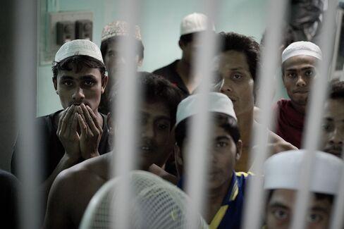 Thai Immigration Detention Centre