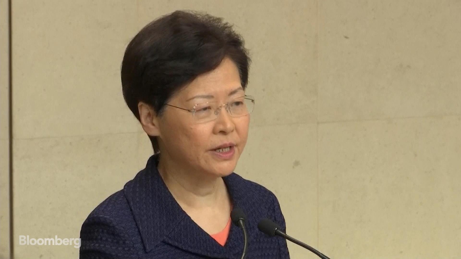 Hong Kong's Lam: 'We Will Start Immediately a Platform for Dialogue'